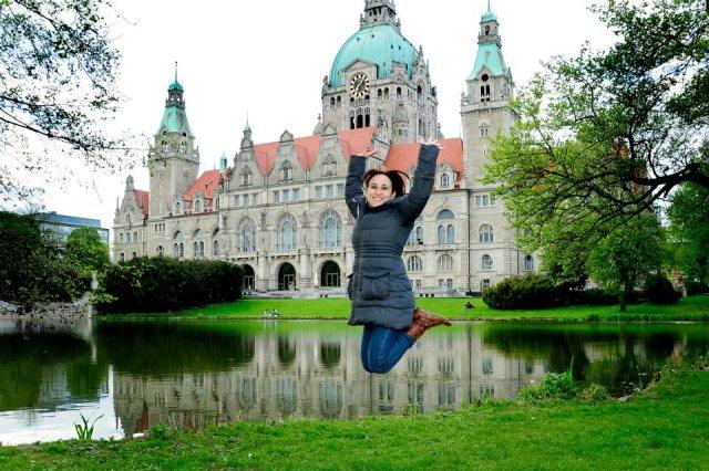 New Town - Hannover - Alemanha Foto da minha amiga Sheila