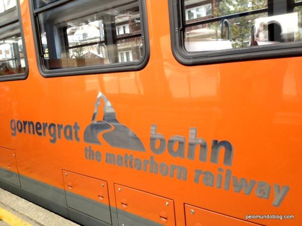 Trem para Rotenboden.