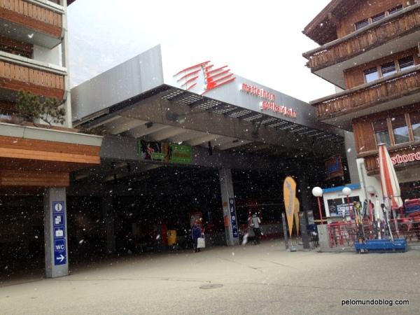 Estação de Zermatt.