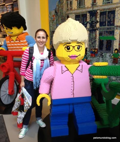 Loja da Lego na Stroget