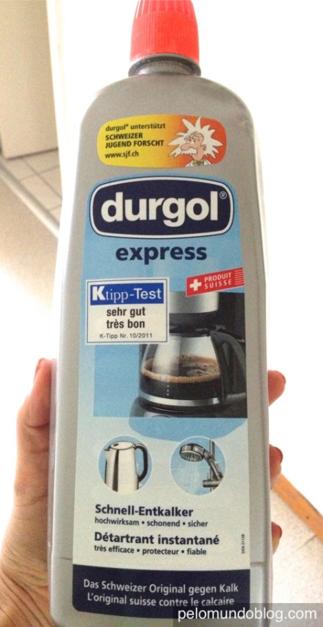 Anti calcário para cafeteira, pia, jarra, banheiro...uso em tudo. Este é o melhor.