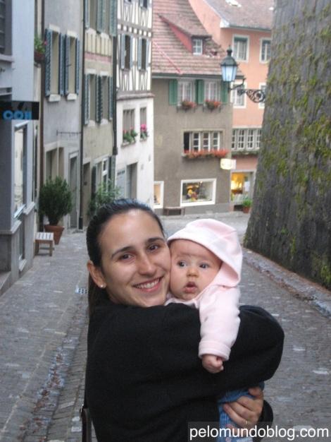 Nosso primeiro passeio na cidade antiga, em 2009.