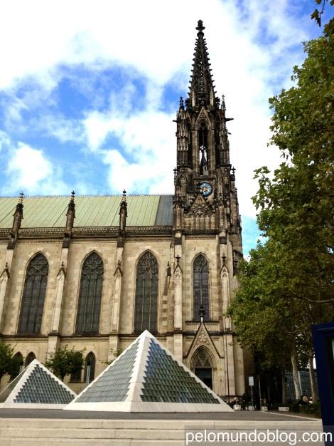 Igreja Elisabethen contruída entre 1857 e 1865.