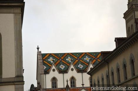 Teto da igreja St. Laurenze