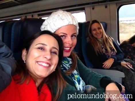 Minhas companheiras de passeio: Fernanda e Renata