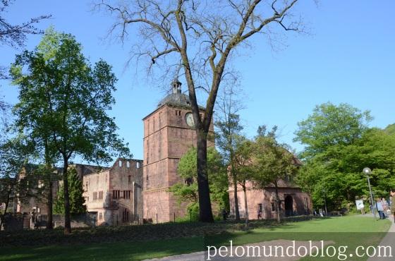 Entrada do castelo.