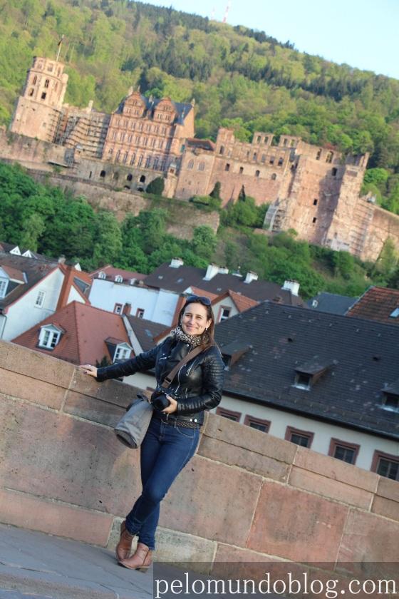 Heidelberger Schloss ao fundo. Foto: Andre Langaro