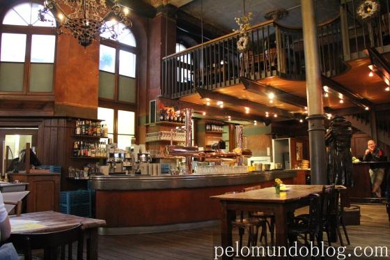 Restaurante Kulturbrauerei Foto: Andre Langaro