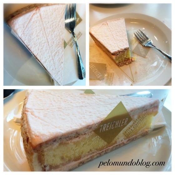 A famosa torta de cereja.