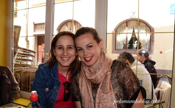Minha amiga Fernanda que nos acompanhou no passeio.