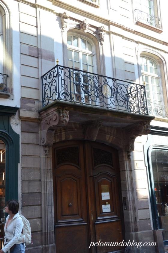Casa onde Mozart morou.
