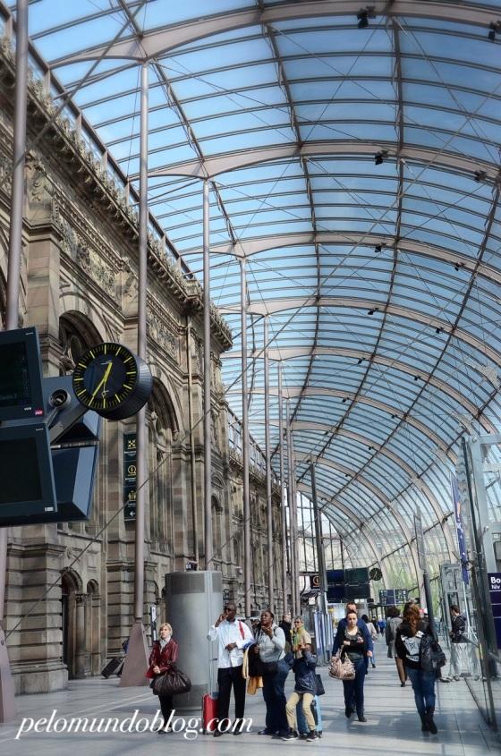 Estação de Strasbourg.