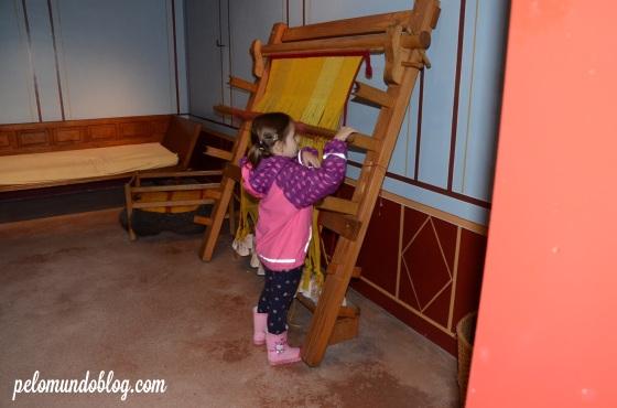 Visitando o museu na Augusta Raurica, que tinha entrada gratuita durante a Römerfest.