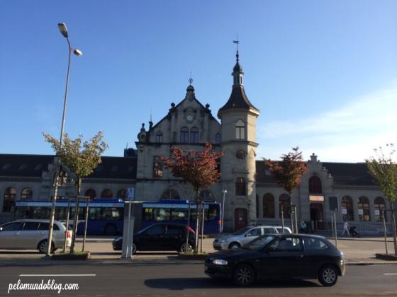 Estação de Rapperswil.