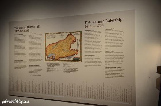 Periodo que o castelo foi dominado pelos Bernese.