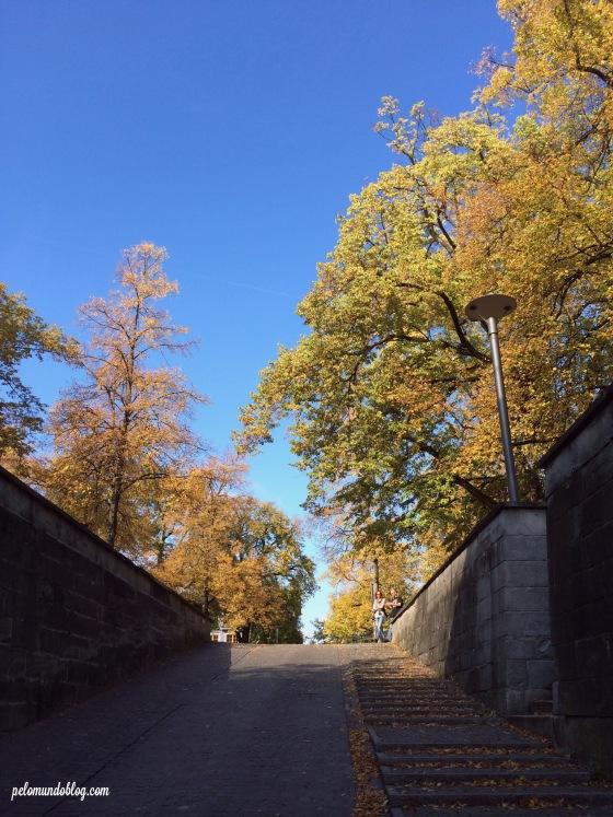 Principal entrada no parque.