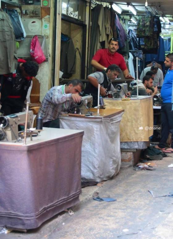 Area dos costureiros - Amman