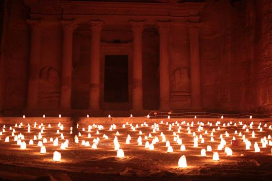 Petra by Night.