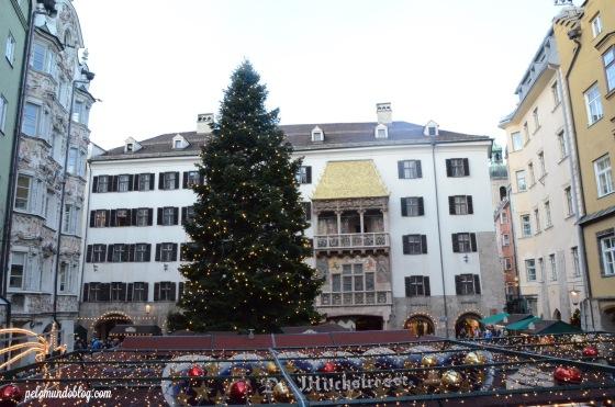 Mercado de Natal em Innsbruck.