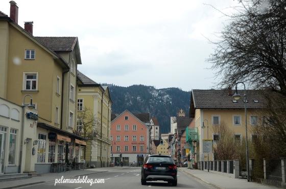 Passando por Füssen.
