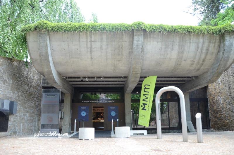 Entrada do museu.