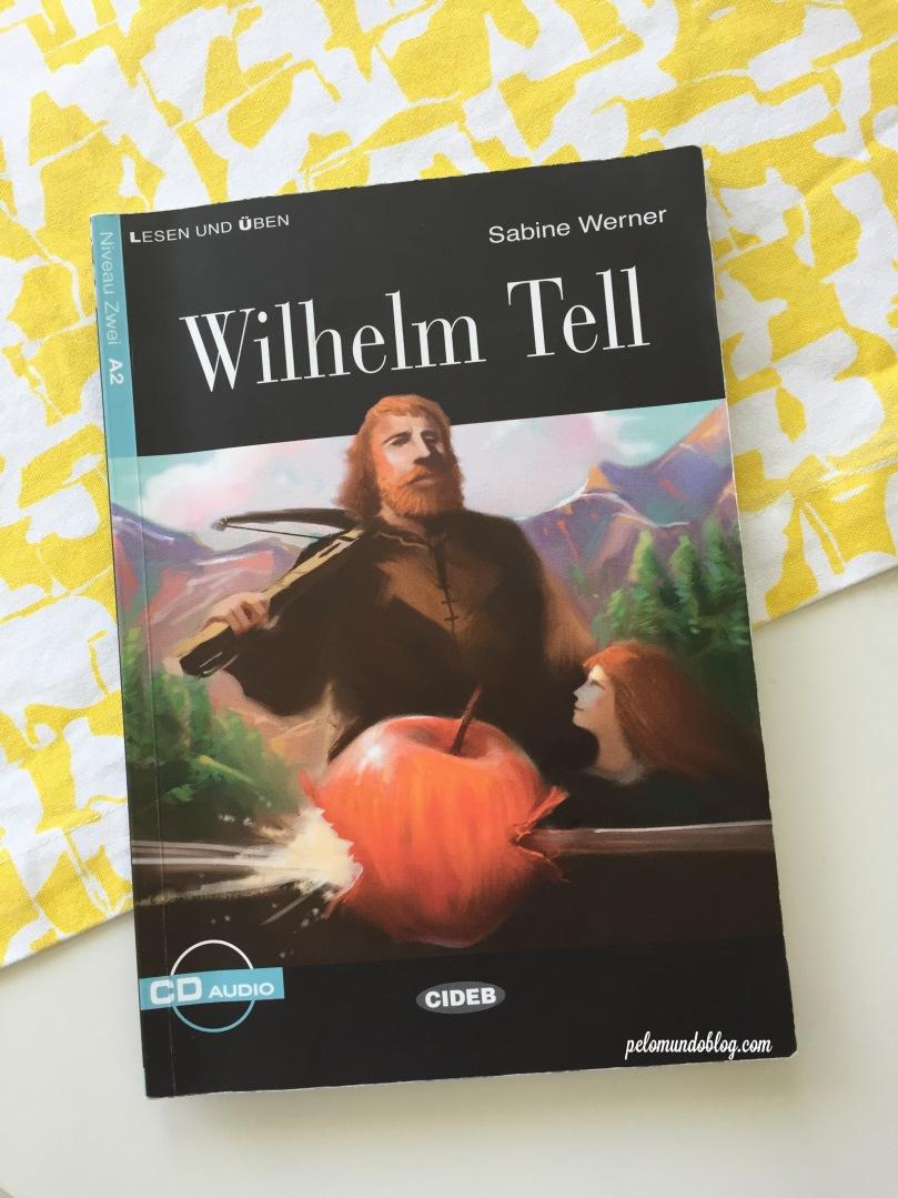 O livro que eu li sobre a história de Guilherme Tell.