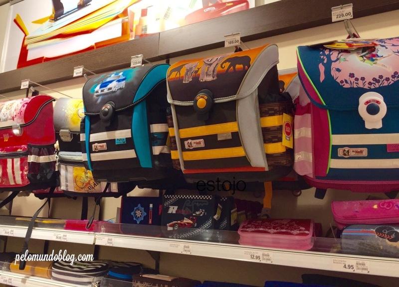 Modelos de mochilas.