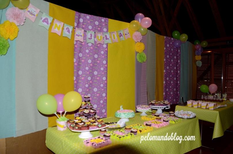 Festa de 5 anos no salão, em Turgi.
