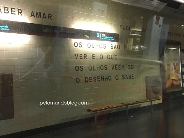 Filosofia no metrô.